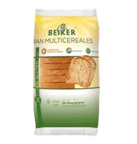 Pan de molde multicereales sin gluten Beiker