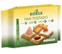 Pan tostado sin gluten Beiker