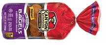 Canyon Bakehouse. Cinnamon raisin bagels gluten free
