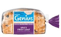 Genius Glute Free - Spicy Fruit Loaf