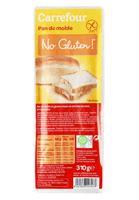 Pan de molde sin gluten Carrefour