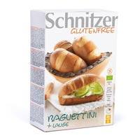 Schnitzer. Bio Baguette + Lauge sin gluten