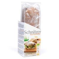 Schnitzer. Bio Ciabatta Olive sin gluten