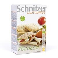 Schnitzer. Bio Focaccia sin gluten