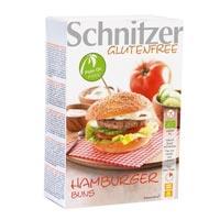 Schnitzer. Bio Hamburguer Buns sin gluten