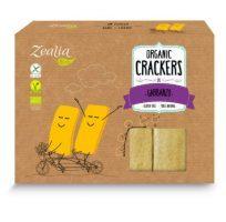 Crackers de garbanzo ecológicos sin gluten de Zealia