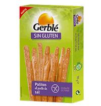 Gerblé. Palitos al punto de sal sin gluten