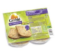 Pan de molde rústico sin gluten Gerblé