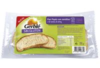 Pan payés sin gluten Gerblé