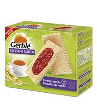 Gerblé. Tostadas de avena sin gluten