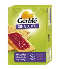 Gerblé. Tostadas de maíz y arroz sin gluten