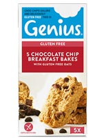 Genius Gluten Free - Chocolate chip Breakfast Bakes