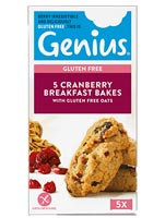 Genius Gluten Free - Cranberry Breakfast Bakes