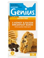 Genius Gluten Free - Honey & Raisin Breakfast Bakes