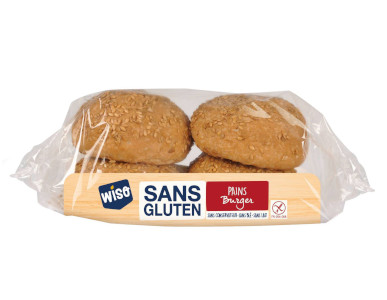 Wiso Pains burguer sans gluten