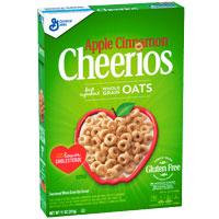 Cereales sin gluten Cheerios Manzana