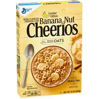 Cereales sin gluten Cheerios Plátano