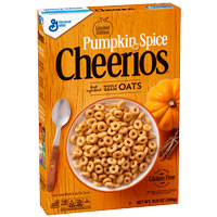 Cereales sin gluten Cheerios Calabaza