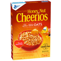 Cereales sin gluten Cheerios Honey Nut