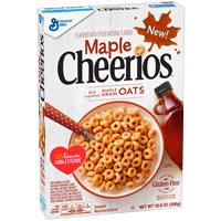 Cereales sin gluten Cheerios Sirope