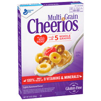 Cereales sin gluten Cheerios Multigrano