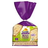 Pan de molde Maxi Tranches 3 cereales