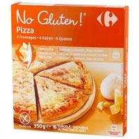 Carrefour Pizza sin gluten 4 Quesos