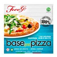 Freeg base pizza sin gluten