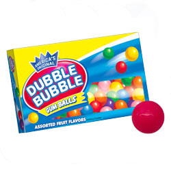 Bolas de chicle sin gluten Dubble Bubble