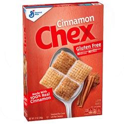 Cereales sin gluten Chex Canela