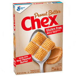 Cereales sin gluten Chex Peanut Butter