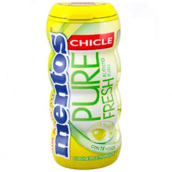 Chicles Mentos Lemonade