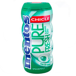 Chicles Mentos Spearmint