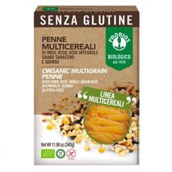 Macarrones de arroz multicereal sin gluten Probios