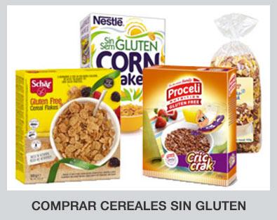 Comprar cereales sin gluten de diferentes marcas