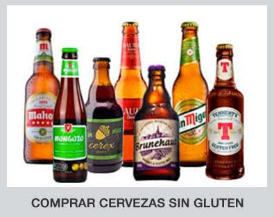 Comprar cerveza sin gluten de diferentes marcas