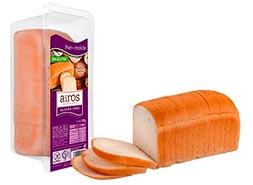 Pan de molde sin gluten Airos