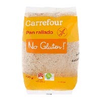 Pan rallado sin gluten de Carrefour