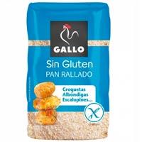 Pan rallado sin gluten de Gallo