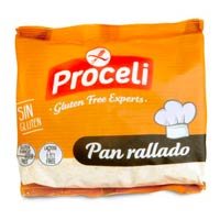 Pan rallado sin gluten de Proceli