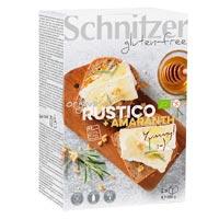 Schnitzer. Pan molde rústico amaranto sin gluten