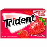 Trident Fresa chicle sin gluten