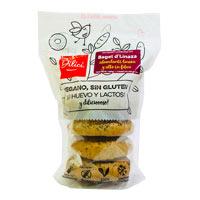 Dilici bagels de linaza sin gluten