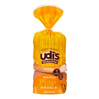 Udi's Bagels sin gluten