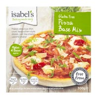 Isabel's gluten free pizza dough