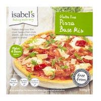 Isabel's base pizza sin gluten