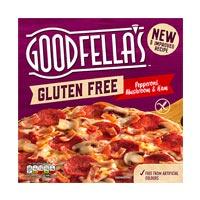 Goodfella's Gluten free pizza Pepperoni, Mushroom & Ham