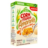 Cereales Corn Flakes Amaranto de Nestlé