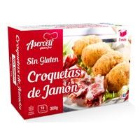 Aserceli croquetas de jamón sin gluten