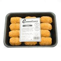 Cannelonia croquetas de boletus sin gluten